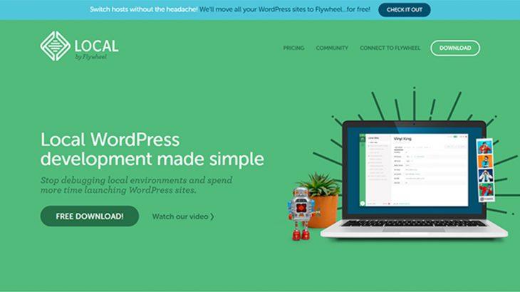 WordPressのローカル環境を構築「Local by Flywheel」を使ってみた